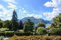 lush surroundings of Bellagio - Family Villa Parco luxury apartment