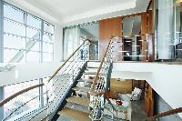 cool mezzanine of Arts Barcelona 1 Bedroom Penthouse luxury apartment