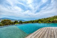 wonderful swimming pool of Corsica - Mediterranean luxury apartment