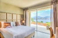 awesome view from a bedroom of Corsica - Mediterranean luxury apartment