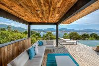refreshing poolside deck at Corsica - Mediterranean luxury apartment