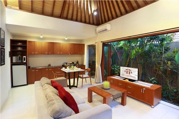 well-appointed Bali - Legian Kriyamaha Villa 4 luxury apartment