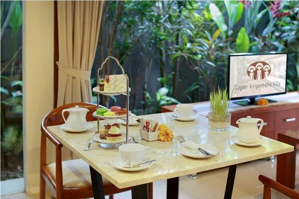 neat furnishings in Bali - Legian Kriyamaha Villa 6 luxury apartment