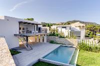 amazing architecture of Corsica - Figarella luxury apartment