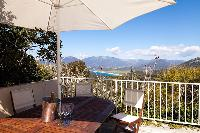 awesome balcony of Corsica - Portigliolo luxury apartment
