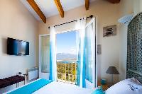 amazing view from a bedroom of Corsica - Portigliolo luxury apartment