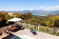 incredible terrace of Corsica - Portigliolo luxury apartment