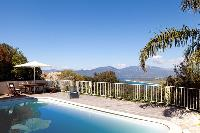 beautiful poolside area of Corsica - Portigliolo luxury apartment
