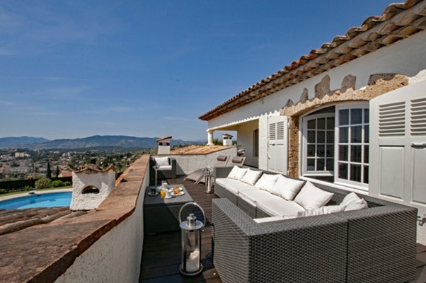 beautiful Cannes Villa Panoramique luxury apartment and holiday home