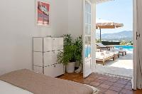cool bedroom in Cannes Villa Panoramique luxury apartment