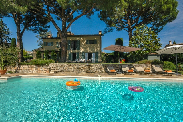 impressive Cannes Villa Ste Genevieve luxury apartment and holiday home