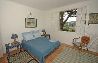 pleasant and perky bedroom of Cannes Villa Ste Genevieve luxury apartment