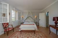 charming bedroom furniture of Cannes Villa Ste Genevieve luxury apartment