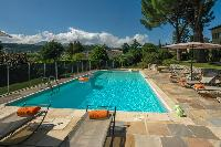 refreshing swimming pool of Cannes Villa Ste Genevieve luxury apartment