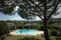 lovely and lush surroundings of Cannes Villa Ste Genevieve luxury apartment
