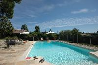 rejuvenating pool at Cannes Villa Ste Genevieve luxury apartment