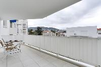 awesome terrace of Cannes Apartment Isola Bella luxury apartment