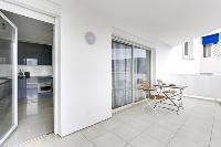 cool patio of Cannes Apartment Isola Bella luxury apartment