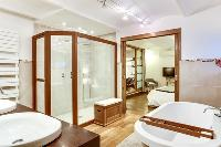 fascinating bathroom of Cannes Apartment Le Loft luxury home