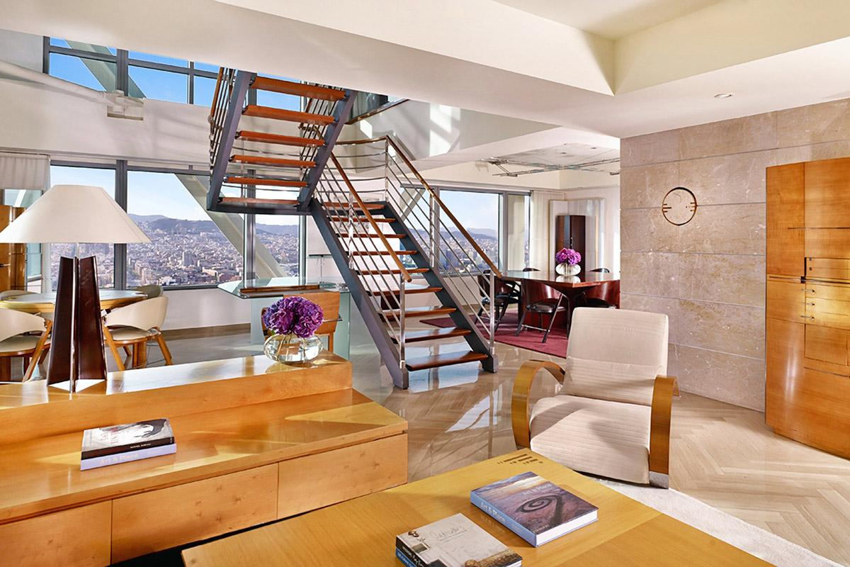fabulous Arts Barcelona 3 Bedroom Penthouse luxury apartment and holiday home