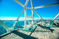 incredible view of the sea from the balcony of Barcelona - The Arts Penthouse luxury apartment
