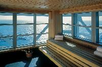 breathtaking view of the sea from Barcelona - The Arts Penthouse luxury apartment