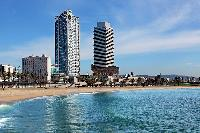 sparkling seashore near Barcelona - The Arts Penthouse luxury apartment