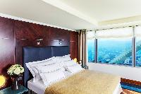 breathtaking view from Arts Barcelona - The Royal Penthouse luxury apartment