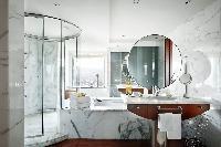 elegant bathroom of Arts Barcelona - The Royal Penthouse luxury apartment