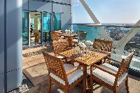 awesome balcony of Arts Barcelona - The Royal Penthouse luxury apartment