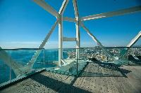 amazing sea view from Arts Barcelona - The Royal Penthouse luxury apartment