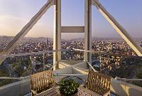 amazing balcony of Arts Barcelona - The Royal Penthouse luxury apartment