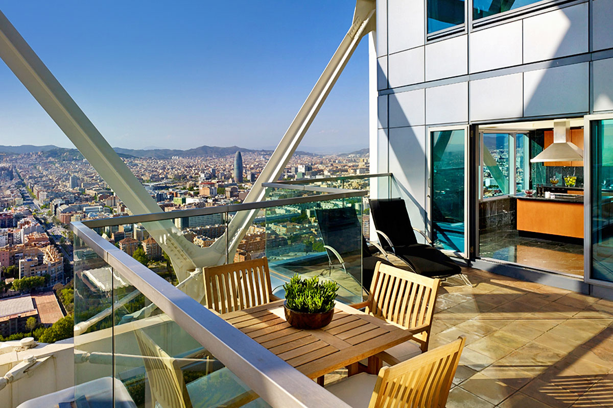 Barcelona - Arts Barcelona - The Presidential Penthouse