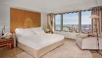 pristine bed sheets in Arts Barcelona - The Barcelona Penthouse luxury apartment