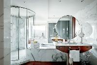 elegant bathroom in Arts Barcelona - The Barcelona Penthouse luxury apartment