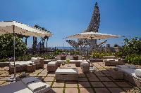 incredible balcony of Arts Barcelona - The Barcelona Penthouse luxury apartment