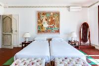 awesome twin bedroom of Cannes Villa Boulevard des Collines luxury apartment