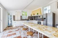 amazing kitchen of Cannes Villa Boulevard des Collines luxury apartment