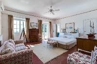 lovely bedroom of Cannes Villa Boulevard des Collines luxury apartment