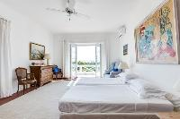 delightful bedroom accents in Cannes Villa Boulevard des Collines luxury apartment