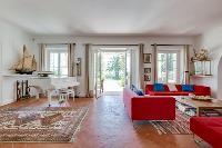 exquisite living room of Cannes Villa Boulevard des Collines luxury apartment