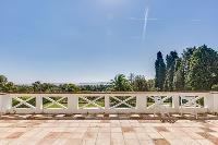 breathtaking view from Cannes Villa Boulevard des Collines luxury apartment