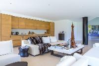 nifty living room of Cannes Villa Mougins luxury apartment