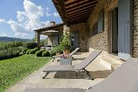 awesome patio and garden of Corsica - Villa Agata luxury apartment
