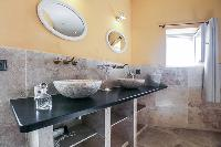 neat and trim lavatory of Corsica - Villa Agata luxury apartment
