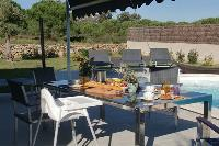 delightful poolside area of Corsica - Villa Agata luxury apartment