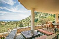 amazing balcony of Corsica - Villa Dominique luxury apartment