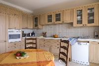 cozy kitchen of Cannes Villa Les Orangers luxury apartment
