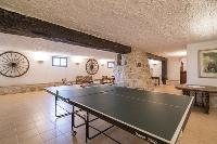 cool table tennis at Cannes Villa Les Orangers luxury apartment