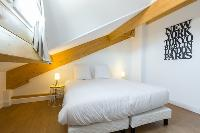 fresh and clean bedding in Cannes Apartment Jaurès I luxury home